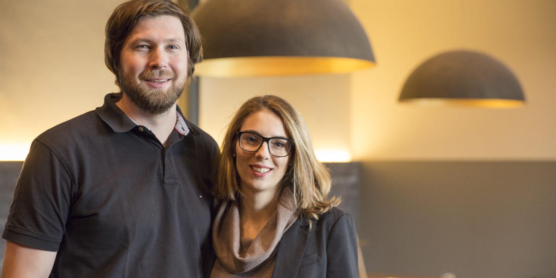 Gastgeber-Team Martin Stettler und Gabriela Naegeli